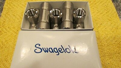 Swagelok SS - 8 - T Swagelok Stainless Steel Pipe Fitting, Tee, 1/2 in NPT
