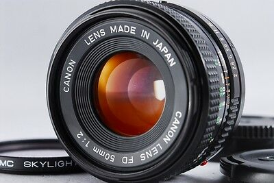 [Excellent+++++] Canon New FD NFD 50mm F/2 Prime MF Lens Camera from Japan #02