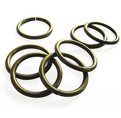 Metal O Rings unwelded 25, 32, 38mm 3 colours