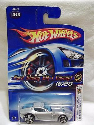 2005 Hot Wheels First Edition/New Model Ford Shelby GR-1 Concept