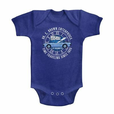 BACK TO THE FUTURE DR E BROWN ENTERPRISES VINTAGE ROYAL INFANT Short Sleeve