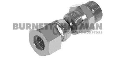 METRIC Male (L Series) x BSP Male – COMPLETE - Hydraulic Compression Fitting