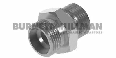 METRIC Male (S Series) x BSP Male – BODY ONLY - Hydraulic Compression Fitting