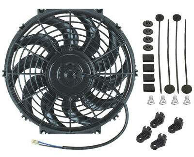 "6""-16"" Electric Fan-S Powerful Engine Radiator Condenser Cooling Chevy Ford Jeep"