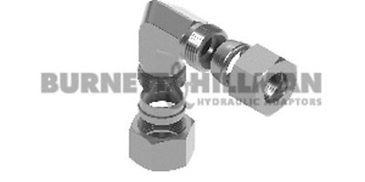 METRIC Male x Male 90° C (L Series) COMPLETE – Hydraulic Compression Fitting