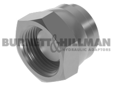 Burnett & Hillman METRIC Swivel Blanking Cap 1.5mm Pitch Hydraulic Fitting