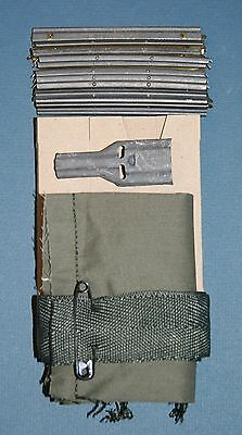 USGI .223 5.56 MILSURP Four (4) Pocket Bandolier (Bandoleer) Repack Kit