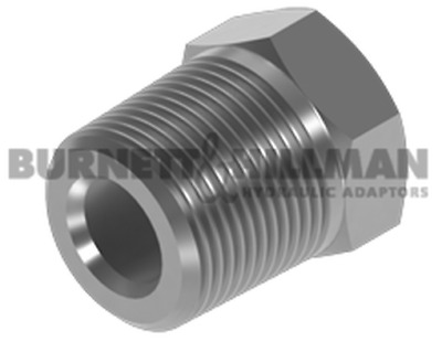 Burnett & Hillman BSPT Male 60° Cone x BSPT Fixed Female Bush Adaptor | 4-45