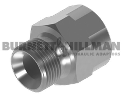 "Burnett & Hillman BSP 3/4"" Male x BSP 1/2"" Fixed Female GAUGE Adaptor 