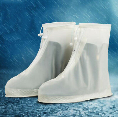 Waterproof Rain Shoes Cover Reusable Boots Flat Overshoes Covers Slip Resistant