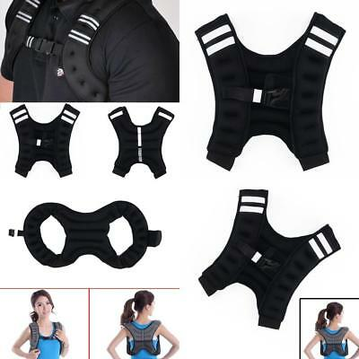Weighted Vest Home Gym Running Fitness Weight loss Strength Jacket 8kg