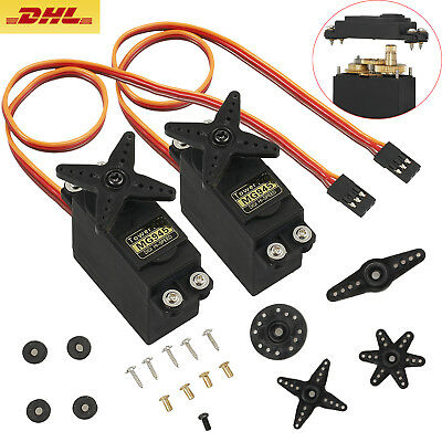 2x MG945 Digital Metall Gear Servo 55g Metallgetriebe 12kg Gear aRC-Universe DE