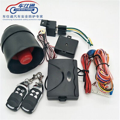 2-Way Car Vehicle Auto Burglar Alarm Keyless Entry Security System with 2 Remote