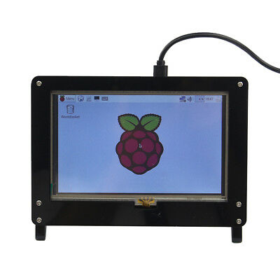 "5"" Inch Raspberry Pi LCD TFT Touch Screen HDMI Display 800x480  RetroPie Case"