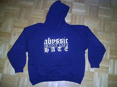 Abyssic Hate Hoodie XL Xasthur, Forgotten Tomb, Nokturnal Mortum, Trist, Drudkh