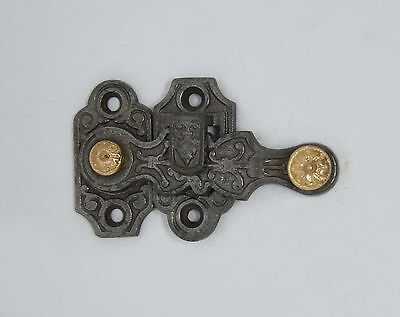 Cast Iron Shutter Latch with Aesthetic Detail