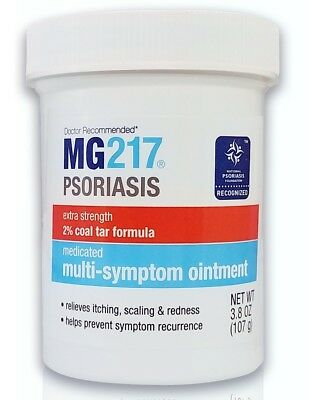 MG217 Psoriasis Ointment Medicated Multi-Symptom Intensive Strength 3.8 oz