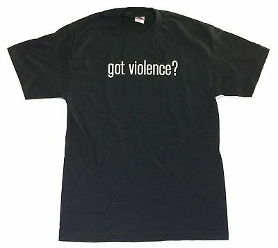 Marilyn Manson Got Violence? Black T Shirt New Official Merch
