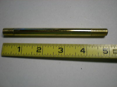 Brass Plated Lamp Extension Pipe For New Lamps & Repair SIZE FIVE INCH
