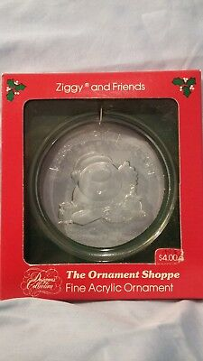 Vintage 1981 Ziggy and Friends Christmas Ornament New In Box