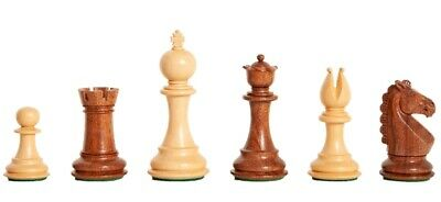 "The Bedford Chess Set - Pieces Only - 3.75"" King - Golden Rosewood"