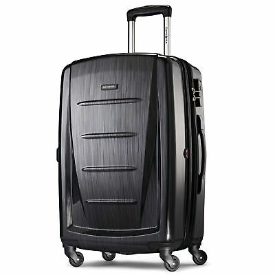 """Samsonite Luggage Winfield 2 Fashion 24"""" Spinner Upright Suitcase  - Anthracite"""