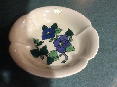 Royal Haeger Dundee IL Ceramic Candy Dish USA Handpainted Pottery