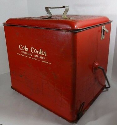 c1950s Insulated Cola Cooler by Poloron New Rochelle NY USA
