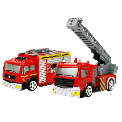 1:58 RC Car Fire Engine Truck Vehicle Model Car Toy for Child Christmas Gift