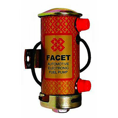 1x Facet 477003 Cylindrical Fuel Pump (IP003)