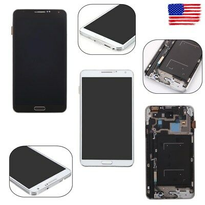 New LCD Display Screen Digitizer Frame For Samsung Galaxy Note 3 N900A N900T US