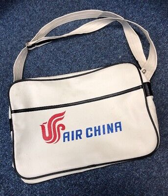 Retro Air China Airlines Hold All Travel Shoulder Bag Vintage Office Sports Gym