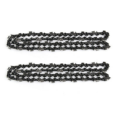 2X 20'' 76 Enlaces Reemplazable Cadena Motosierra Chainsaw Chain Engranajes