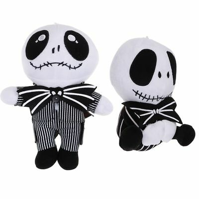 "Hot Nightmare Before Christmas Jack Skellington Plush Soft Toy Doll Gift 8"" 9"""