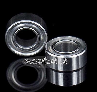 New  10pcs MR105zz Ball Bearing metal sealed 5X10X4mm Miniature Mini Bearing