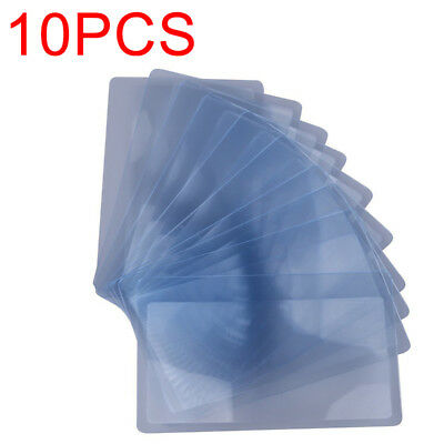 10X Plastic Credit Card 3x Magnifying Pocket Wallet Magnifying Glass Magnifier #