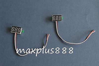 "1PC DC0-100V 0.36"" Three-wire Red LED Digital Voltmeter Head"