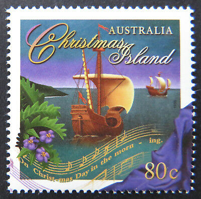 1996 Christmas Island Stamps - Christmas - Single 80c MNH