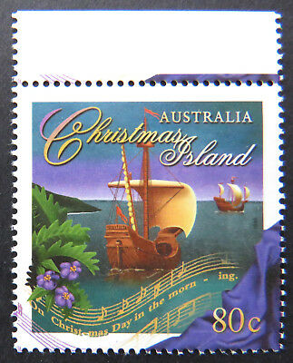 1996 Christmas Island Stamps - Christmas - Single 80c - Tab MNH