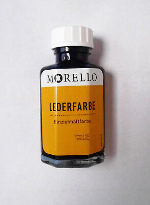 Lederfarbe Morello 40ml marine neu