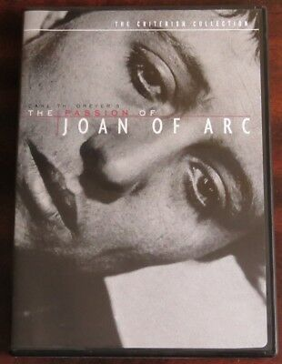 The Passion of Joan of Arc (DVD, 1999, Criterion Collection) - Dreyer, Like New