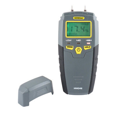 General Tools & Instruments Digital Moisture Meter MMD4E Electrical Testers