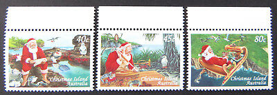 1997 Christmas Island Stamps - Christmas - Set of 3 - Tab MNH