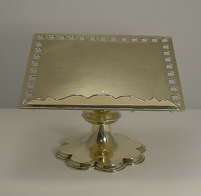 Superb Quality Antique English Brass Lectern / Book Rest c.1880