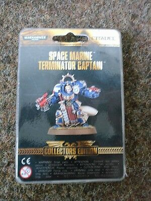Warhammer 40000 Collectors Edition Space Marine Terminator Captain