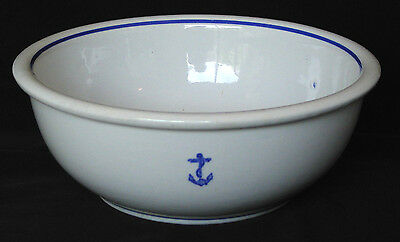 Vintage WWII US Navy Fouled Anchor TEPCO Serving Bowl