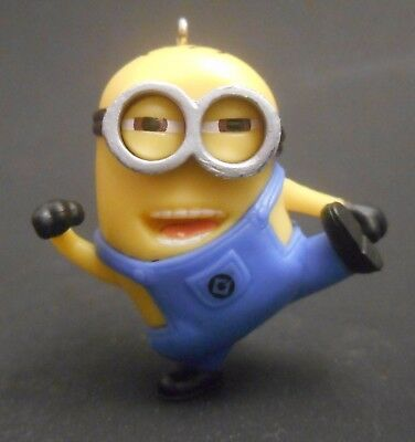 CUSTOM Ornament Made From Despicable Me 2 MINION TOM Kicking Minions Movie 3