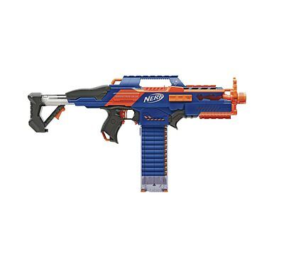 Nerf N-Strike Elite Rapidstrike CS-18 Blaster Super-Speed Firing And The Clip