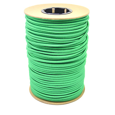 """100ft 1//4/"""" Blue Bungee Cord Marine Grade Heavy Duty Shock Rope Tie Down Stretch"""