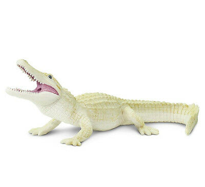 WHITE ALLIGATOR Replica # 291929 ~ FREE SHIP/USA w/ $25+ Safari, Ltd. Products